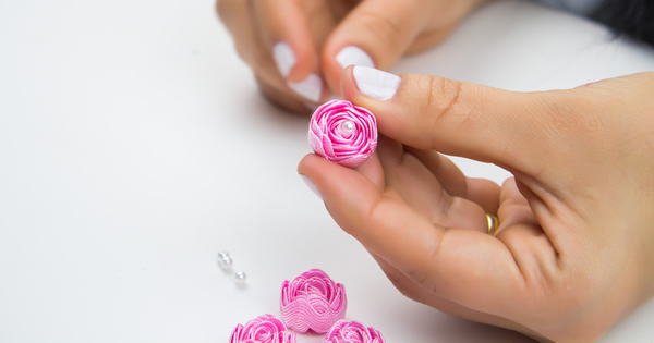 Como Fazer Flor de Sianinha – Passo a Passo