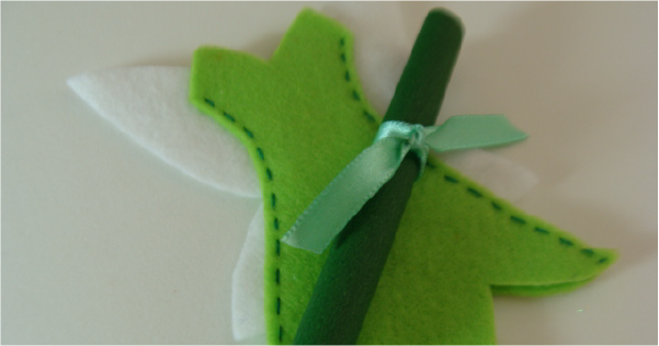 Como Fazer Convite da Tinker Bell em Feltro – Passo a Passo