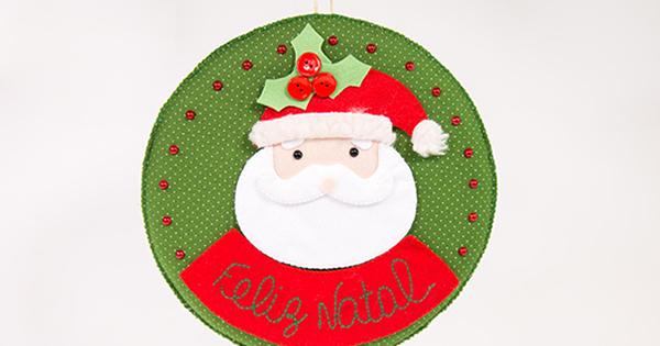 Enfeite de Natal em Feltro – Passo a Passo
