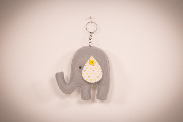 Chaveiro de elefantinho