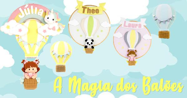 Decoração Infantil em Feltro – 8 Ideias Incríveis de Enfeites com Balões