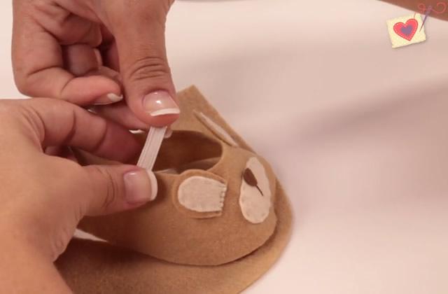 como fazer sapatinho de bebê