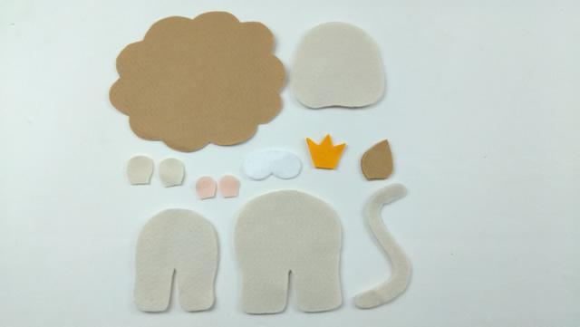 moldes de feltro