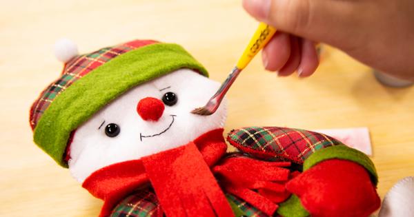 Como Fazer Boneco de Neve em Feltro – Passo a Passo e Molde Grátis