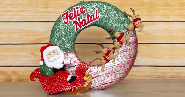 Enfeites de Natal em Feltro para Fazer e Vender – Baixe o Molde Grátis
