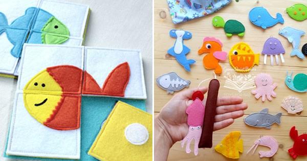 15 Ideias Incríveis de Lembrancinhas de Feltro para o Dia das Crianças