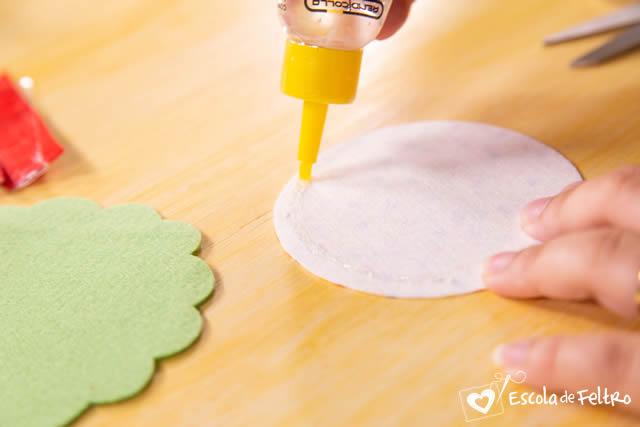 enfeites de natal feltro molde