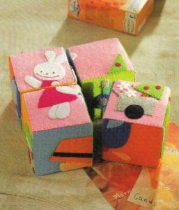 brinquedos de feltro
