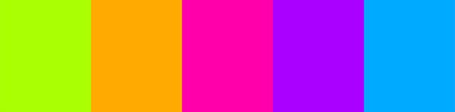 como combinar cores feltro