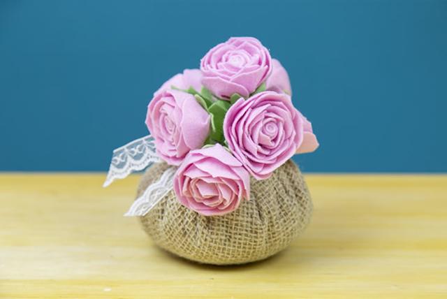 artesanato em feltro para dia das mães