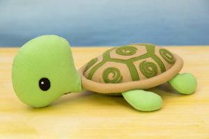 tartaruga de feltro