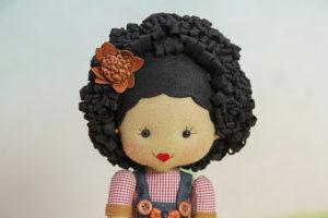 boneca de feltro