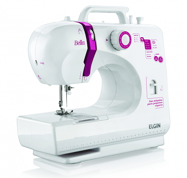 máquina de costura para feltro