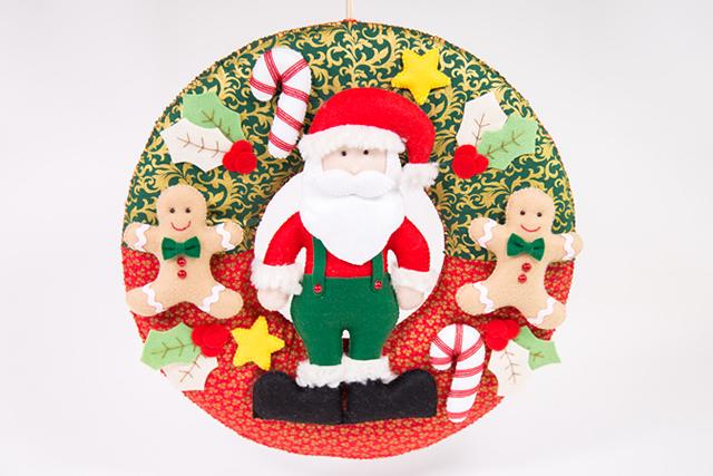 enfeites de Natal em feltro