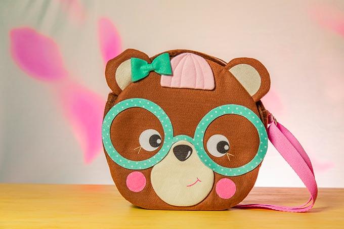 Bolsas de Feltro Urso