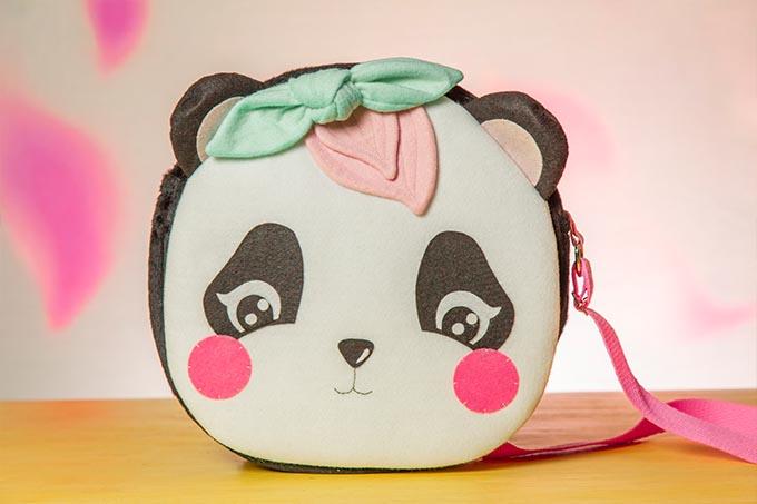 Bolsas de Feltro Panda