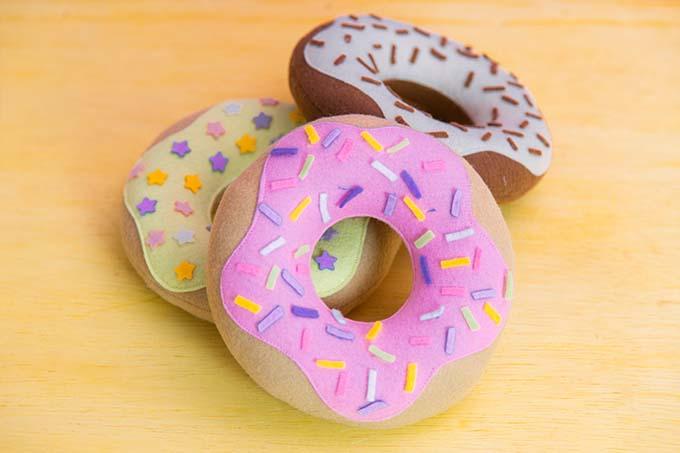 Donuts de Feltro