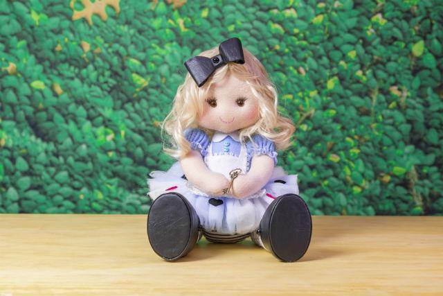 Alice no país das maravilhas feltro