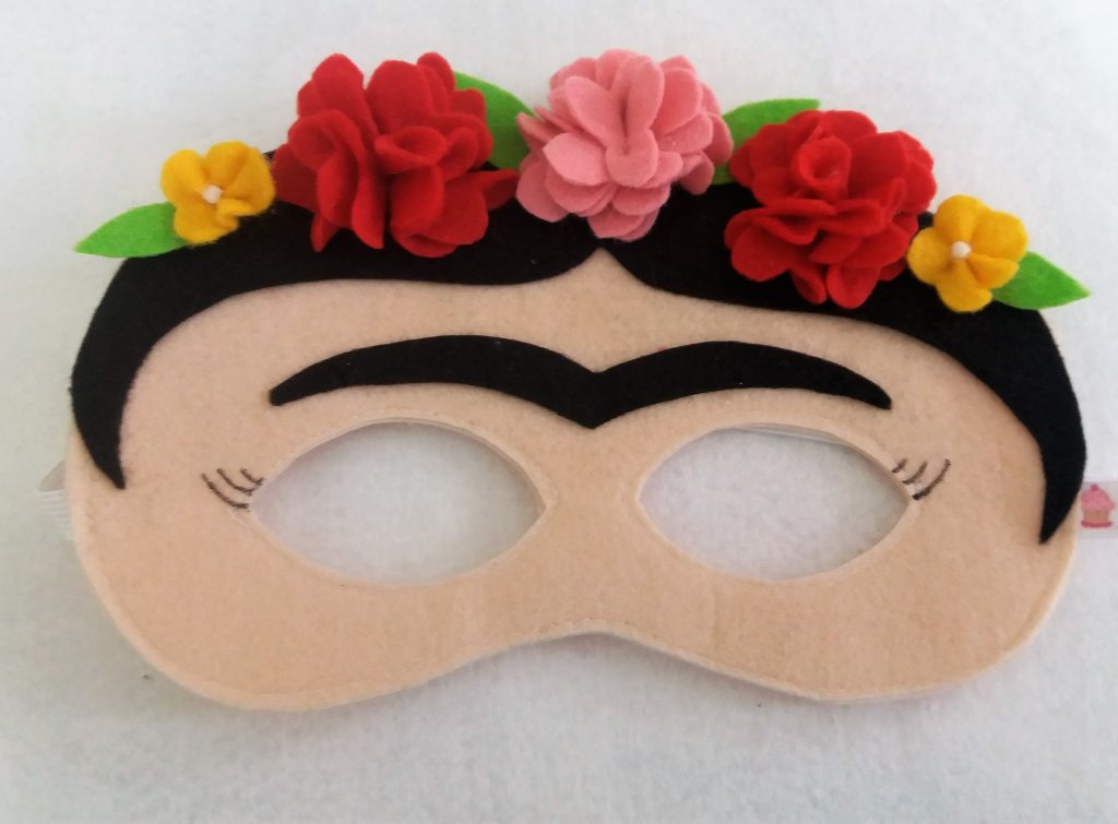 Máscara da Frida Kahlo