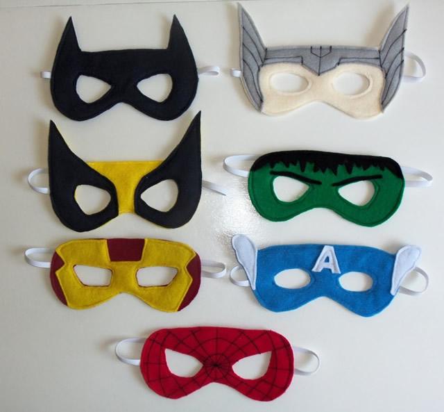 Máscara de super-heróis