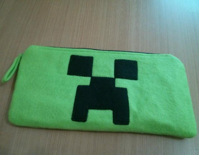 Estojo de feltro Minecraft