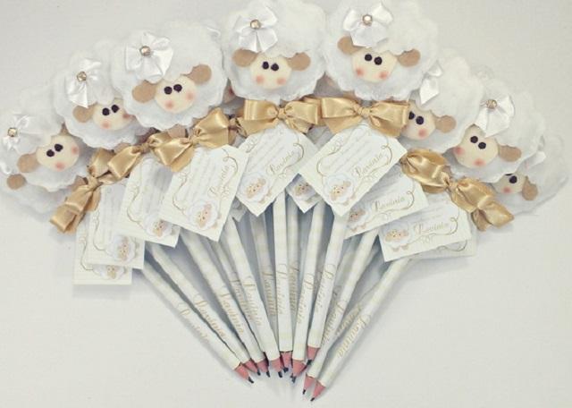 Ponteira de lápis de ovelha