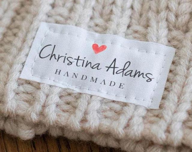 etiqueta de tecido como fazer