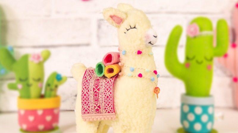 Alpaca em Feltro: Inspirações e Ideias para Fazer e Vender